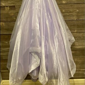 Custom Made Lavender Gown